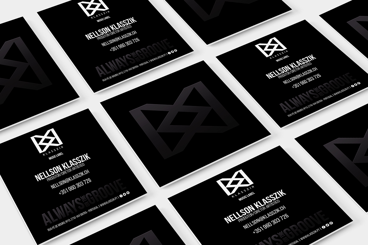 Several Business Cards Branding